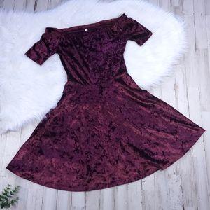 Burgundy / Maroon XS Dress